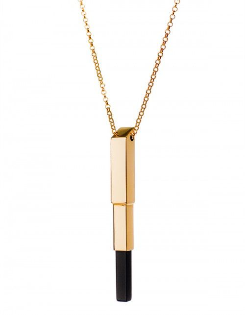 wisiorek z kolekcji EDGY/ Royal 3 #jewelery #gold