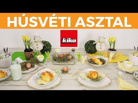A gyönyörű húsvéti asztal | Kika Magyarország - YouTube