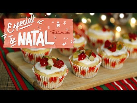 Cupcakes de Panettone | Especial de Natal - YouTube