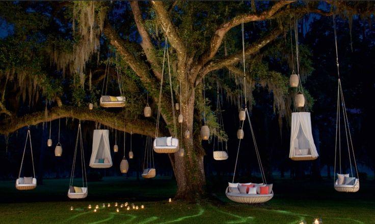 Dedon Swingrest 2er-Sofa, hochwertige Gartenmöbel Swingrest von Villa Schmidt
