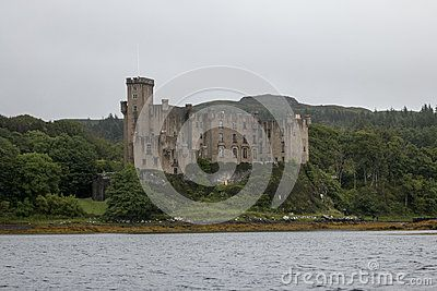 Dunvegan castle in Scotland