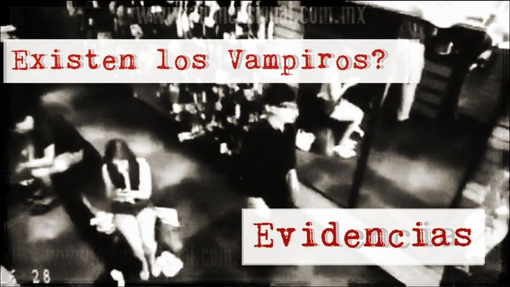 Evidencia real de un Vampiro? (Video Paranormal)