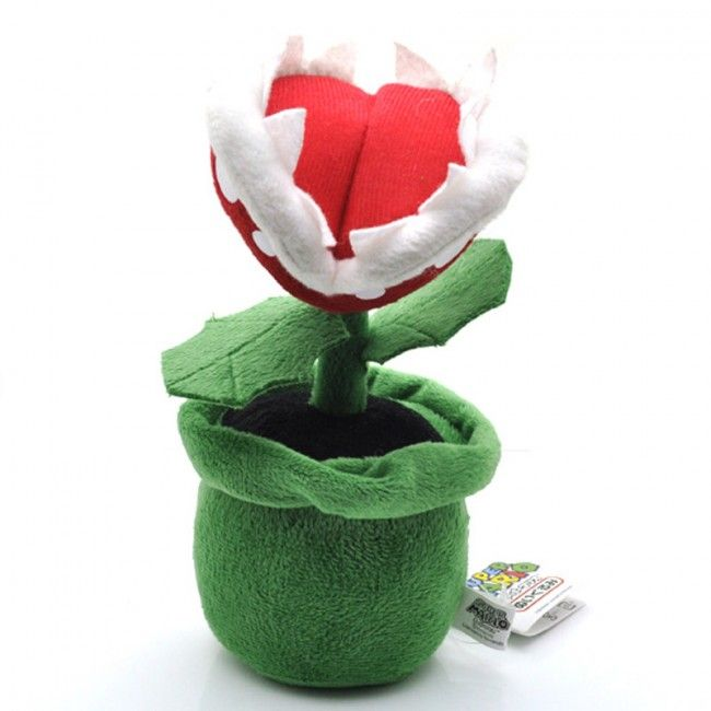 Super Mario Piranha Plant Soft Plush Toy 22cm