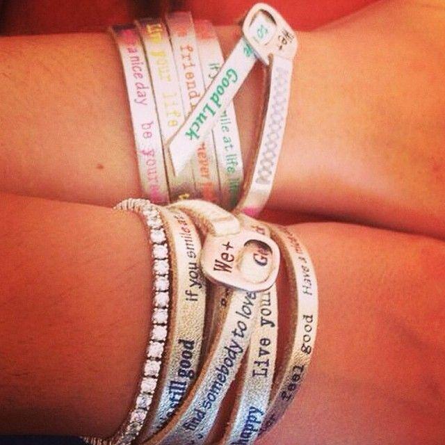 We positive bracelets