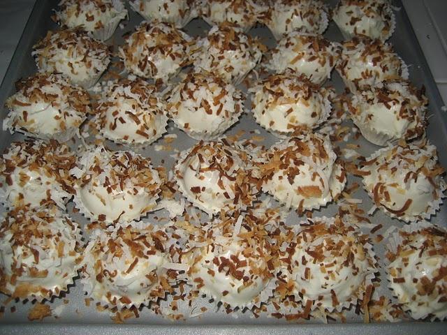Coconut Cake Balls.