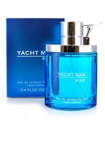 Yacht Man Blue for Men Gift Set - 3.4 oz EDT Spray + 5.0 oz Aftershave Balm + 5.0 oz Shower Gel by Antonio Puig. $18.99. This Gift Set is 100% original.. Gift Set - 3.4 oz EDT Spray + 5.0 oz Aftershave Balm + 5.0 oz Shower Gel. Yacht Man Blue is recommended for daytime or casual use. Yacht Man Blue is made for the mature elegant man in mind with a strong personality. Perfect for independent, calm and discreet individual who is natural and self-assured. A fresh and ...