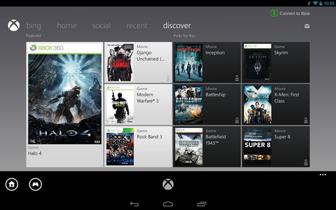 """Xbox SmartGlass App Updated With Support For Tablets Larger Than 7"""", Always-On State"""