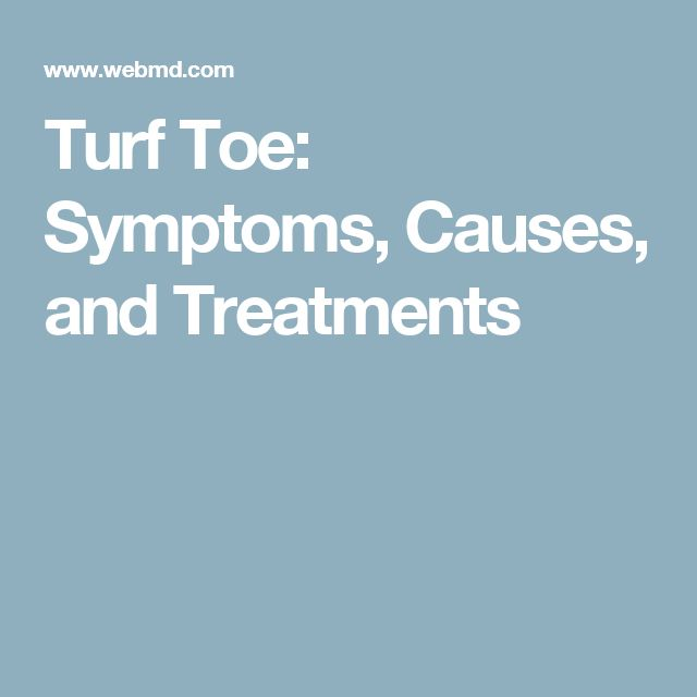 Turf Toe: Symptoms, Causes, and Treatments