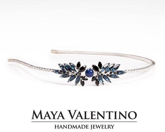 Silver Hair Jewelry Prom Crown Headpiece Accessories Wedding Bridesmaid