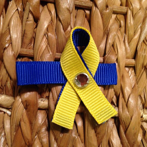Hey, I found this really awesome Etsy listing at https://www.etsy.com/listing/198593787/down-syndrome-awareness-ribbon-clip