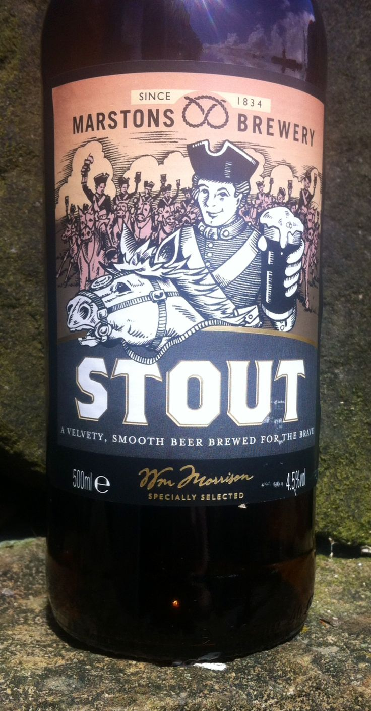 Stout. ABV 4.5%. Marstons Brewery, but selected for Morrisons. 8.5/10