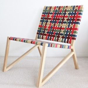 Strap Chair by Sofia Blanco