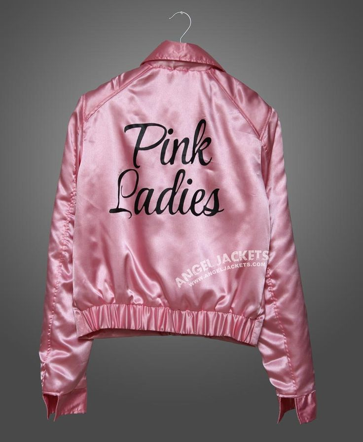 Grease Jacket Pink Ladies