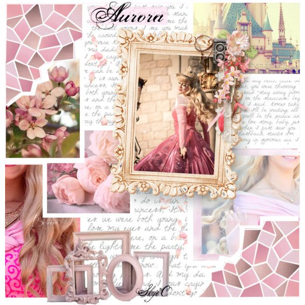 Aurora - Disney's Sleeping Beauty by rubytyra on Polyvore featuring art
