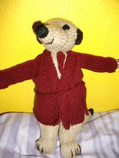 Meerkat Toy - Knitting creation by mobilecrafts | Knit.Community