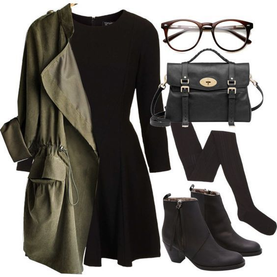 33+ Non-Boring Winter Outfits for School