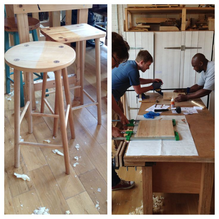 Basic Carpentry Make A Wood Stool Woodworking