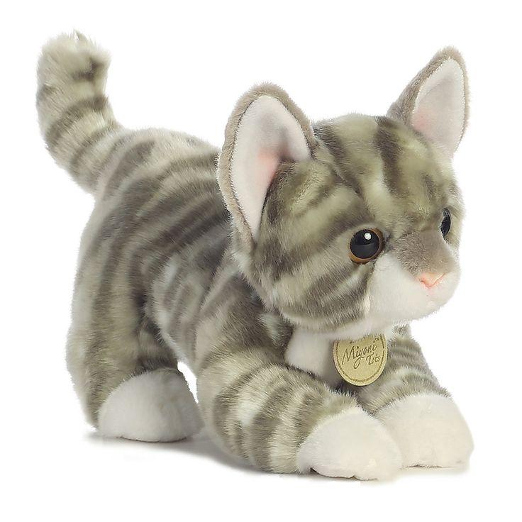 Miyoni - Grey Tabby Kitten 9in