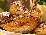 Lemon-Herb Butter-Basted Chicken