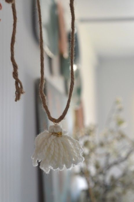 tassel: Farmhouse Decor, Girly Offices, Crafts Ideas, Rustic Yarns, Houses Dreams, Kala Rooms, Girli Offices, Diy Projects, Rooms Decor