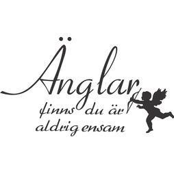 väggord/väggdekor änglar