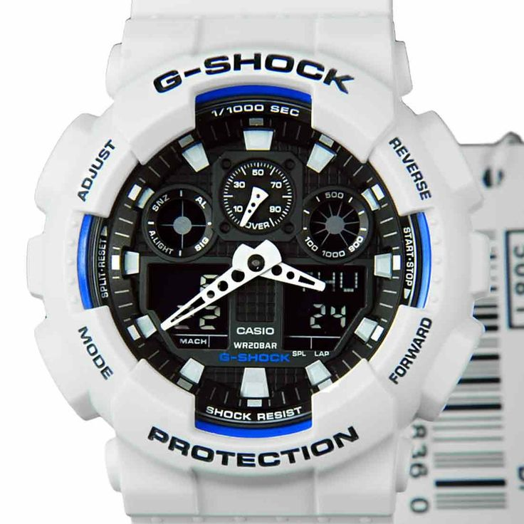 Chronograph-Divers.com - Casio G-shock GA-100B-7A mens watch, $95.00 (http://www.chronograph-divers.com/casio-g-shock-ga-100b-7a-mens-watch/)