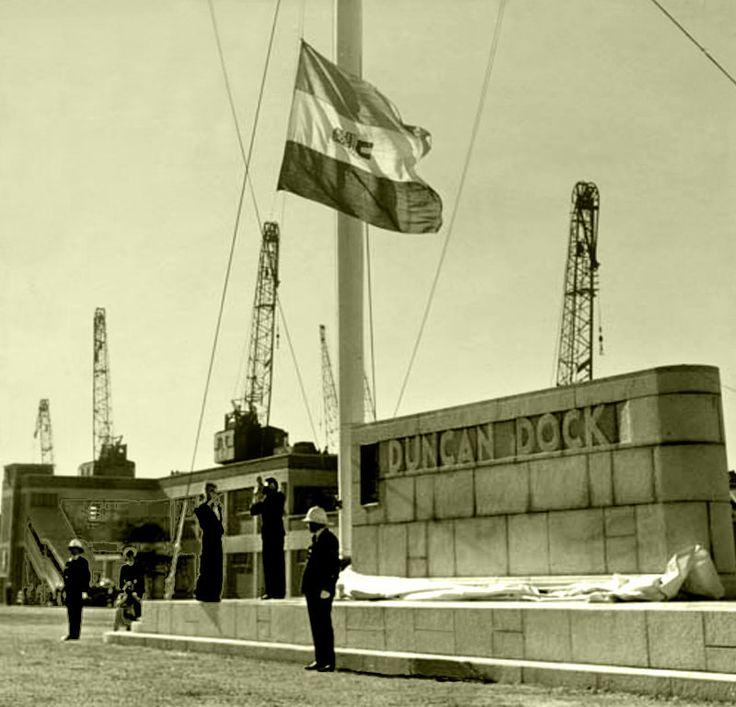 Duncan Dock 1944. | by Etiennedup