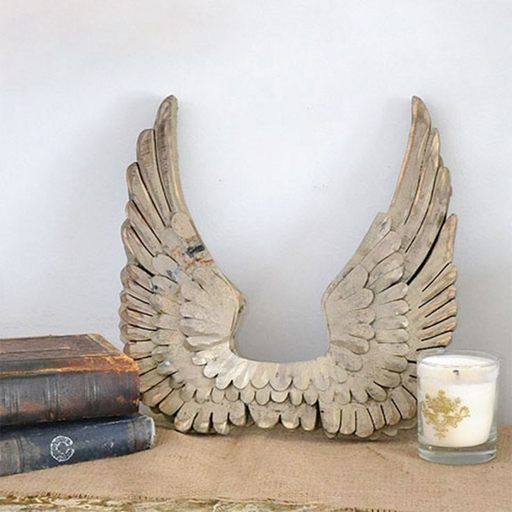 249 best french home accessories images on pinterest With best brand of paint for kitchen cabinets with wooden angel wings wall art