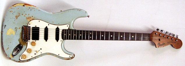 Reg Mombassa's (Mental as Anything) 1970's Fender Strat Guitar