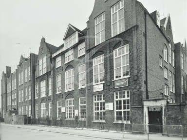 North Paddington Upper School • Amberley Road • 1972