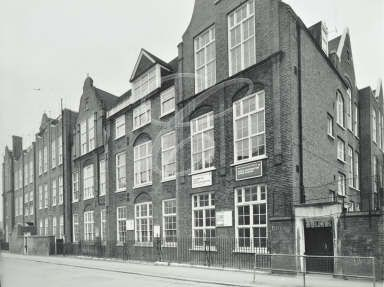 North Paddington Upper School • Amberley Road • 1972
