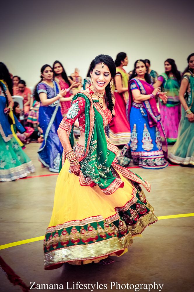 Great outfit for sangeet or haldi