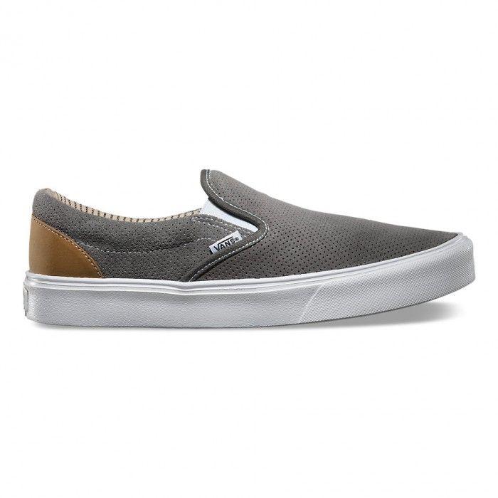 Vans LXVI Slip On Trim Charcoal/White