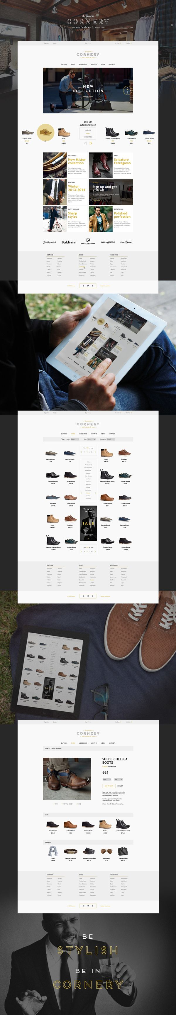 Cornery on Behance