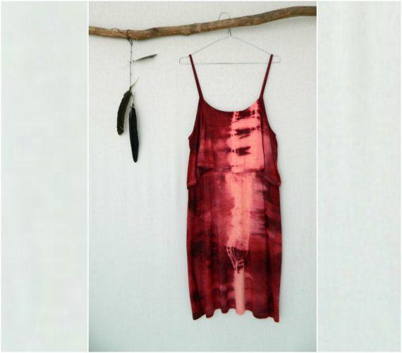 BOHEMIAN . women's tie dye dress . size 14 . by bohemianbabes