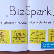 BizSpark is a Microsoft program