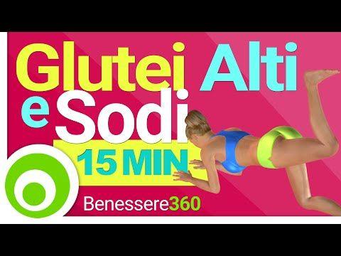 Esercizi per Rassodare i Glutei in 15 Minuti. Glutei Alti, Sodi ed Esplosivi a Casa - YouTube