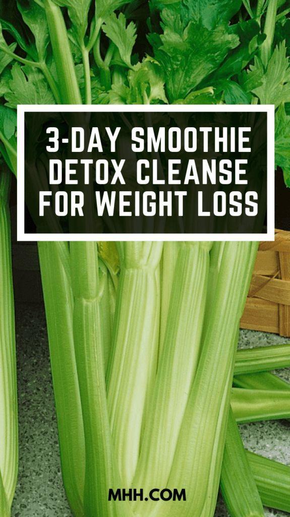 3-tägige Smoothie-Detox-Reinigung zur Gewichtsreduktion (auf gesunde Weise) -…   – Smoothie