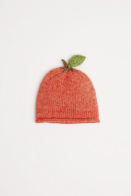 Bonnet pomme pour bébé - tricot