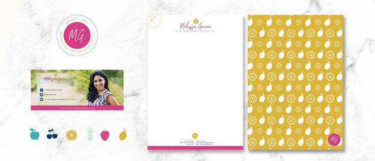 MELISSA GAUNA BRAND DEVELOPMENT / brand design / letterhead and email signature design– Share the Story
