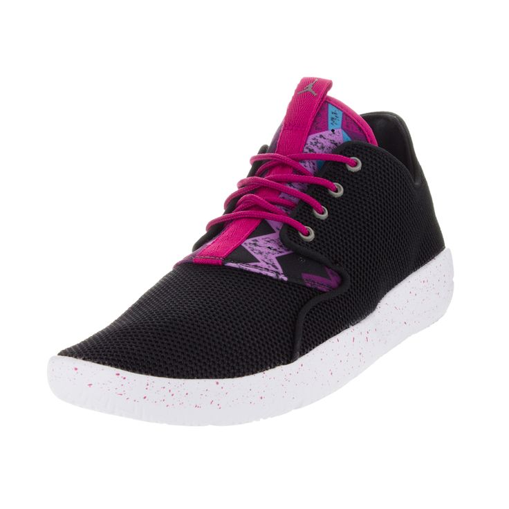 Nike Jordan Kid's Jordan Eclipse Gg / Pewter/Sprt Fchs/Mlbrry Running Shoe