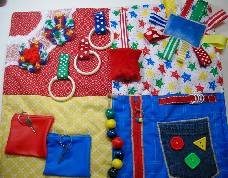 Flowers and Hearts Fidget Quilt for Dementia, Alzheimer's and others. by TotallySewn on Etsy