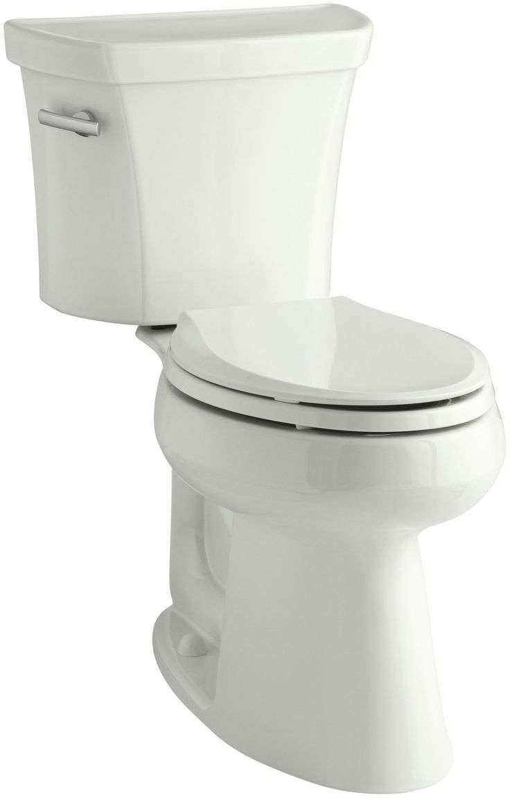 Highline Comfort Height Two-Piece Elongated 1.28 GPF Toilet with Class Five Flush Technology, Left-Hand Trip Lever, Insuliner Tank Liner and Tank Cover Locks