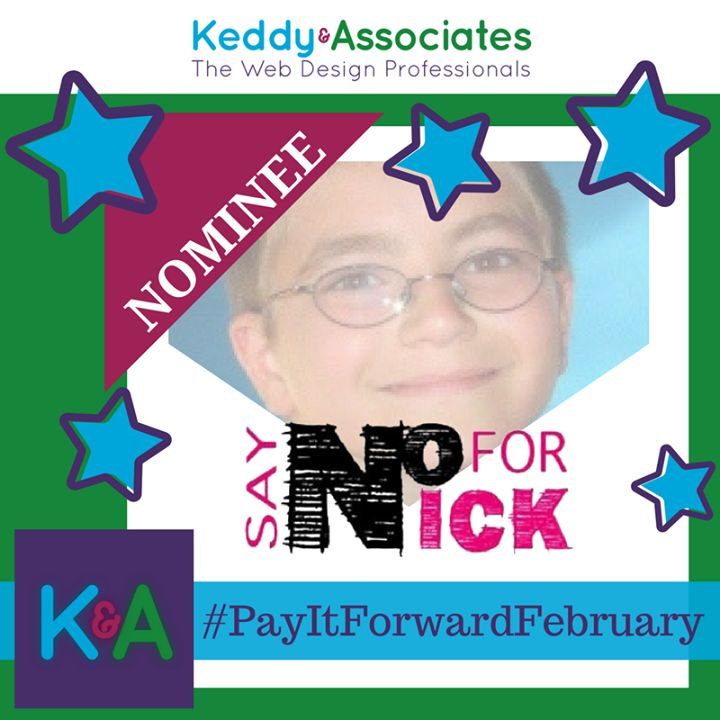 Our 3rd nominee #SayNOForNick comes from Natalie C! Continuing the amazing work of We The Parents  Say NO for Nick is working on a national level combatting the growing opioid and #SubstanceAbuseDisorder #epidemic that is claiming far too many lives of this nation's youth population! Keddy & Associates is honoured to have them as one of our #PayItForwardFebruary nominees! Know of another amazing #local #charity that is deserving and in need of a new #website? #Nominate them…