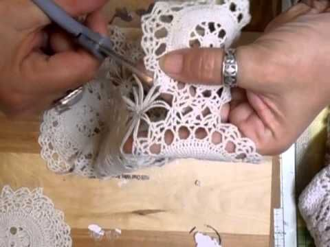 Fiona Jennings as jennings644 - Dismantling Doilies Tutorial - time 10:50; June 20, 2013