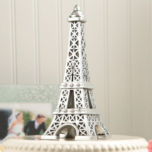Eiffel Tower Cake Topper by Beau-coup