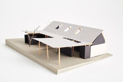 Architectural model Westview Street Scarborough Philip Stejskal Architecture
