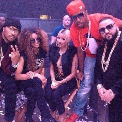 Future, Ciara, Nicki Minaj, SB and Dj Khaled