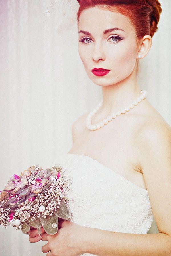 Vintage Bride  Panna Młoda vintage, Wesee vintage, Wedding vintage. Bukiet ślubny vintage