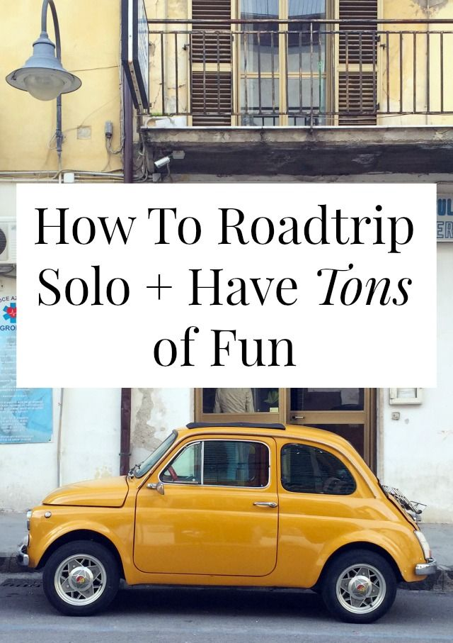 You can road trip solo! You don't need to wait for a friend to join you. Click through for tons of great tips from a woman who's logged over 15,000 miles roadtripping alone! >> yesandyes.org